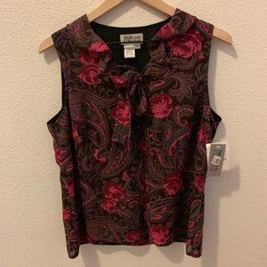 Style & Co. Collection- beautiful floral blouse